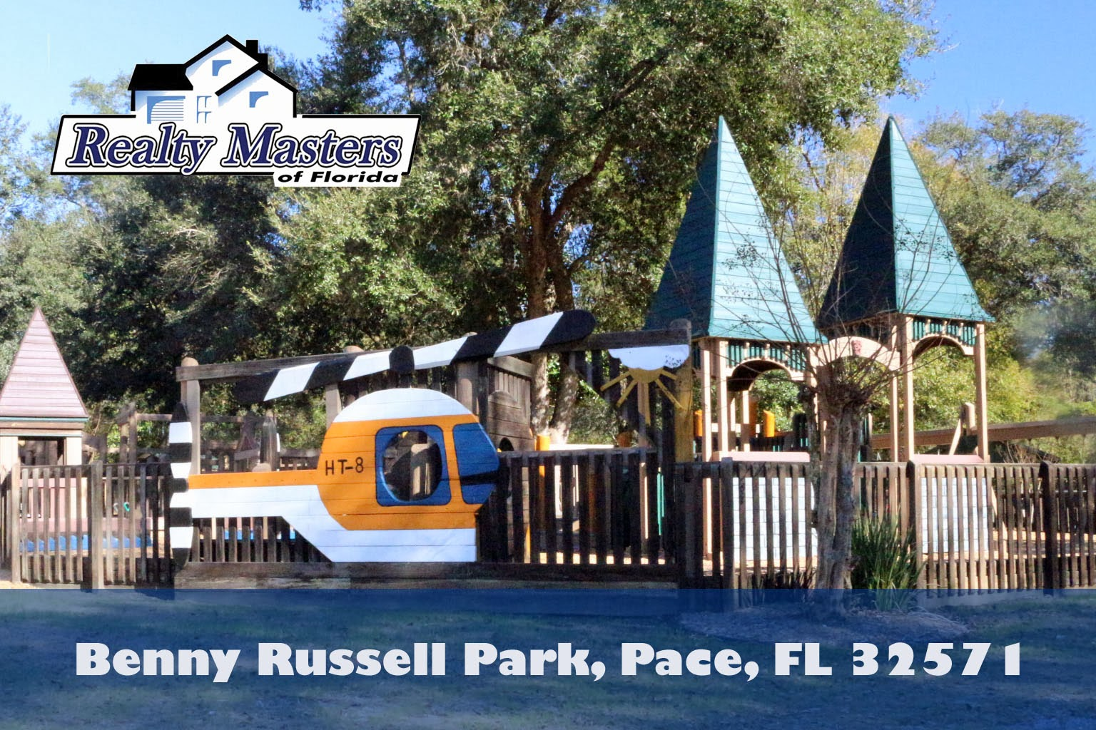 Welcome to Benny Rusell Park in Pace, FL 32571~