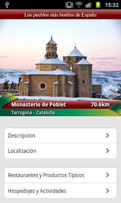 Los Pueblos más Bonitos de España para Android e iPhone