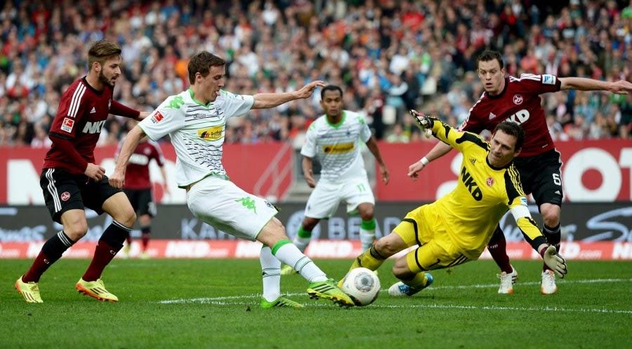 El M.Gladbach saca al Leverkusen de los puestos de Champions