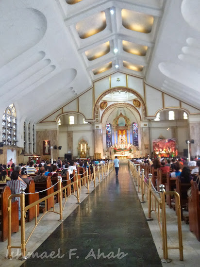 Interior of Quiapo Church