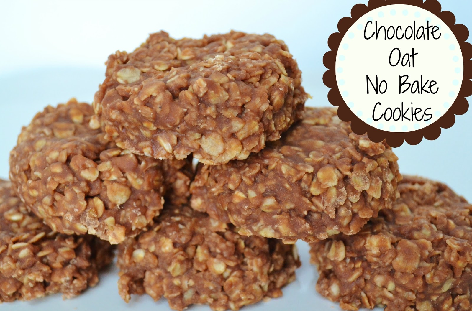 Over The Apple Tree: Chocolate Oatmeal No Bake Cookies