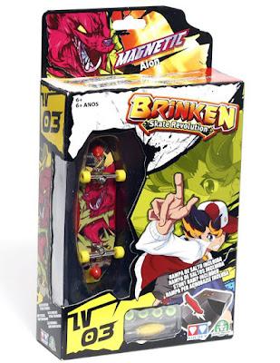 JUGUETES - Brinken Stake Revolution - Magnetic : Alon  Monopatin para dedos + rampa de saltos | Miniskate  Producto Oficial | Giochi Preciosi | A partir de 6 años  Comprar en Amazon