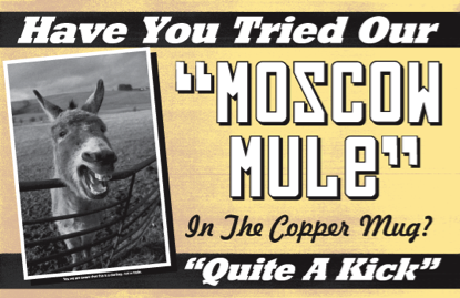 Food and Travel with Des: The Moscow Mule