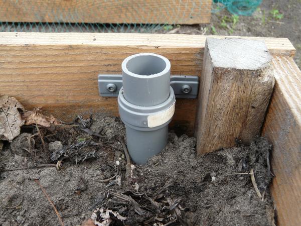Moestuin Zelf Maken : Huis tuin en keuken c moestuin deel het maken van de bedden