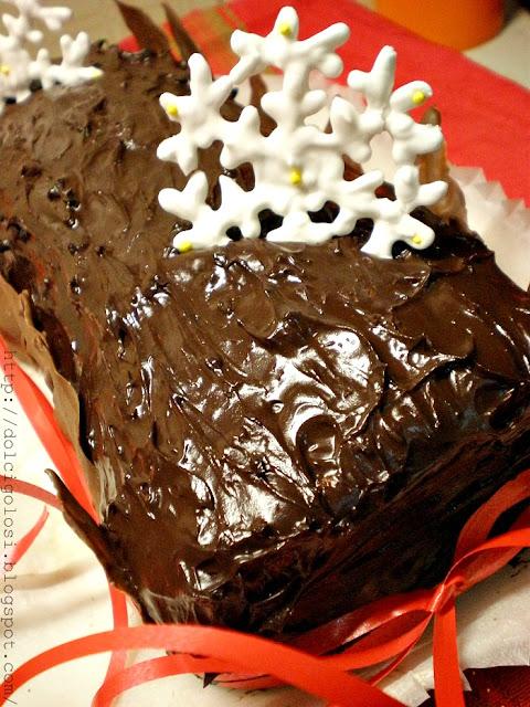Dolcigolosità- tronchetto cioccolato