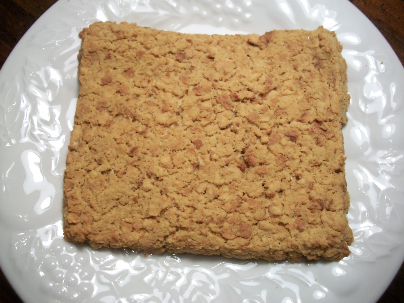 Cinnamon Blondies | Sandy\'s Kitchen