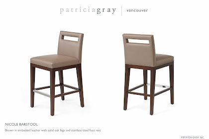 Nicole Barstool | Custom Furniture Design Vancouver