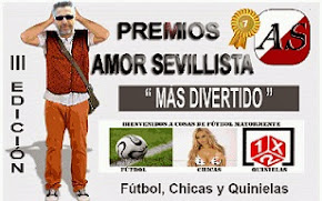 PREMIOS BLOG AMOR SEVILLISTA