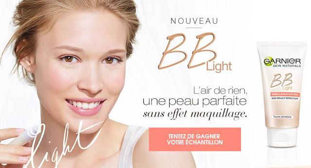 50 000 échantillons gratuits de la nouvelle crème BB Light