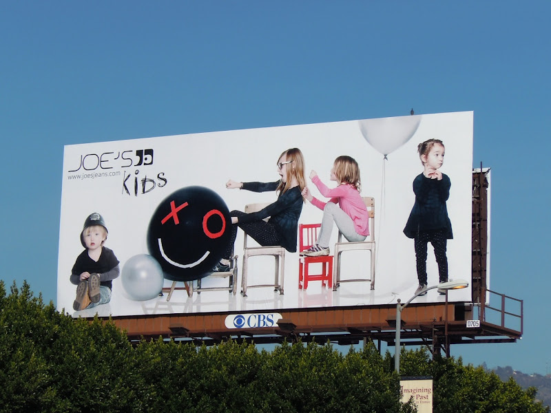 Joe's Jeans kids billboard