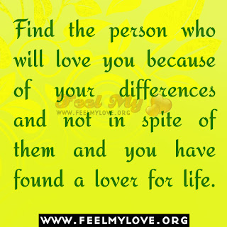 Find the person who will love you