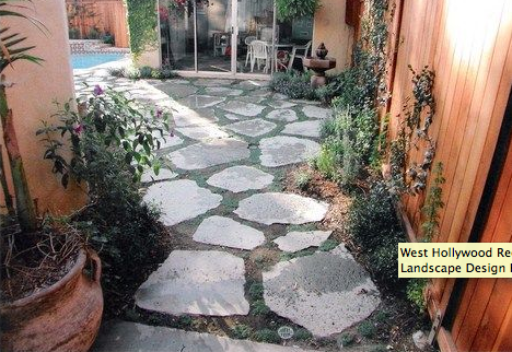 Here Is A Patio Built With Repurposed Concrete, Also Known As Urbanite.