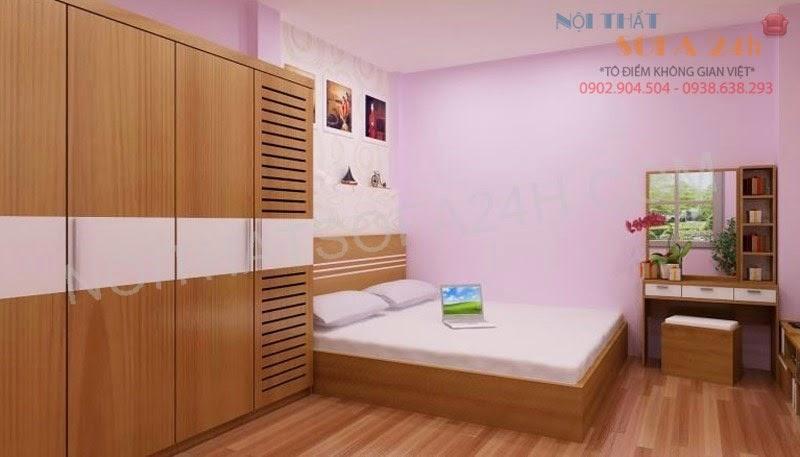 Giường ngủ GN082