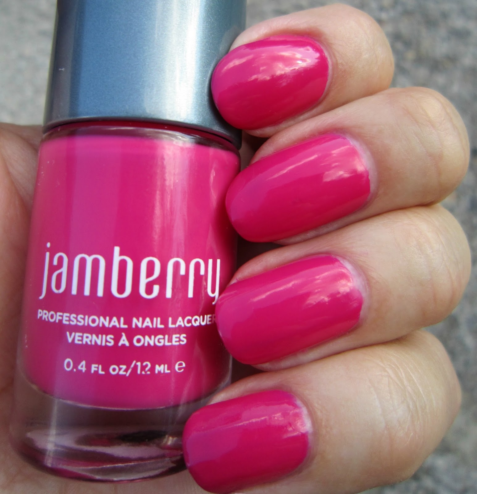 Concrete and Nail Polish: Jamberry