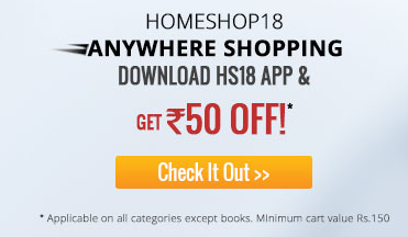 Homeshop18 Rs.50 off on Rs.150 on HS18 Mobile App