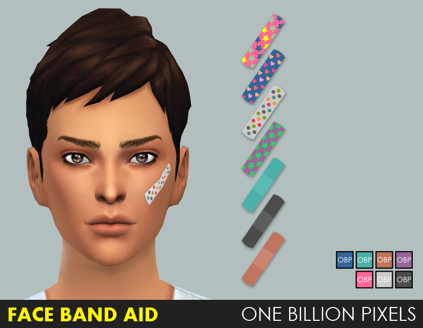 Face Band Aid - One Billion Pixels