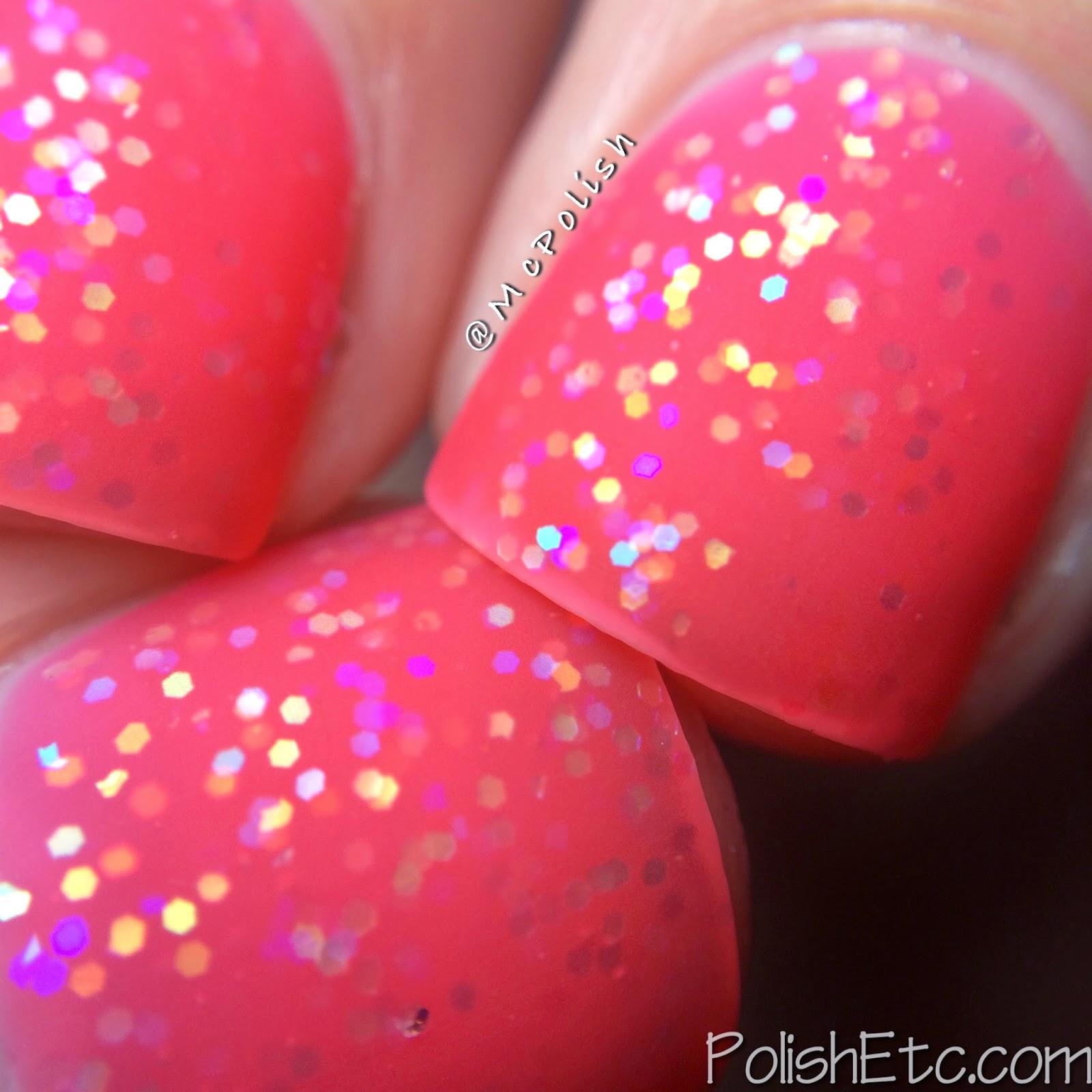 Pure Ice - New Year New Hue Jellies - Rosy Glow - McPolish - Matte Macro