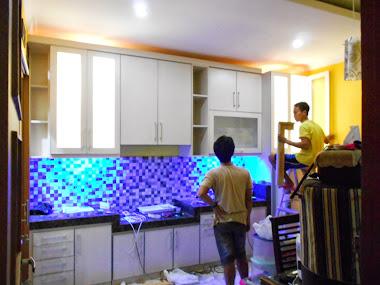 Kitchen set mas Dadang permata Depok
