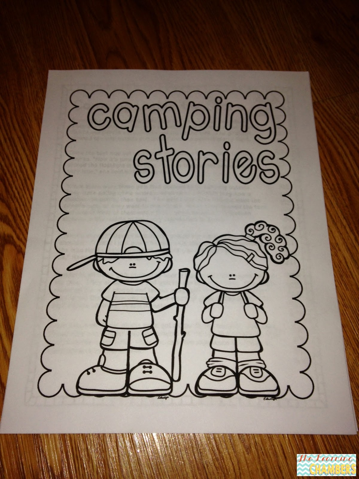 http://www.teacherspayteachers.com/Product/Camping-Stories-Reading-Passages-and-Questions-1273165