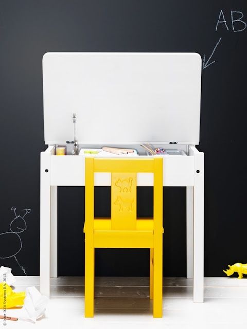 {Kids} 5 cutest kids corners in yellow and grey