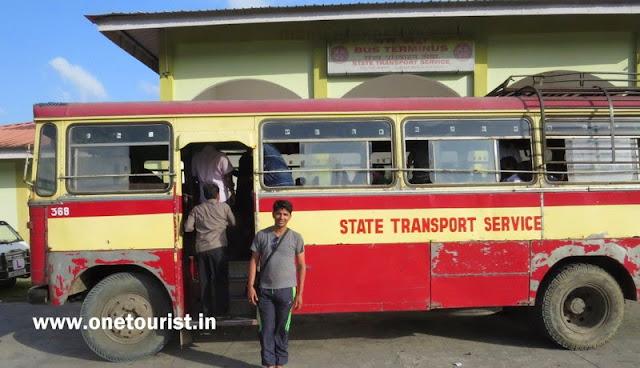 Rangat bus stand , rangat , andaman