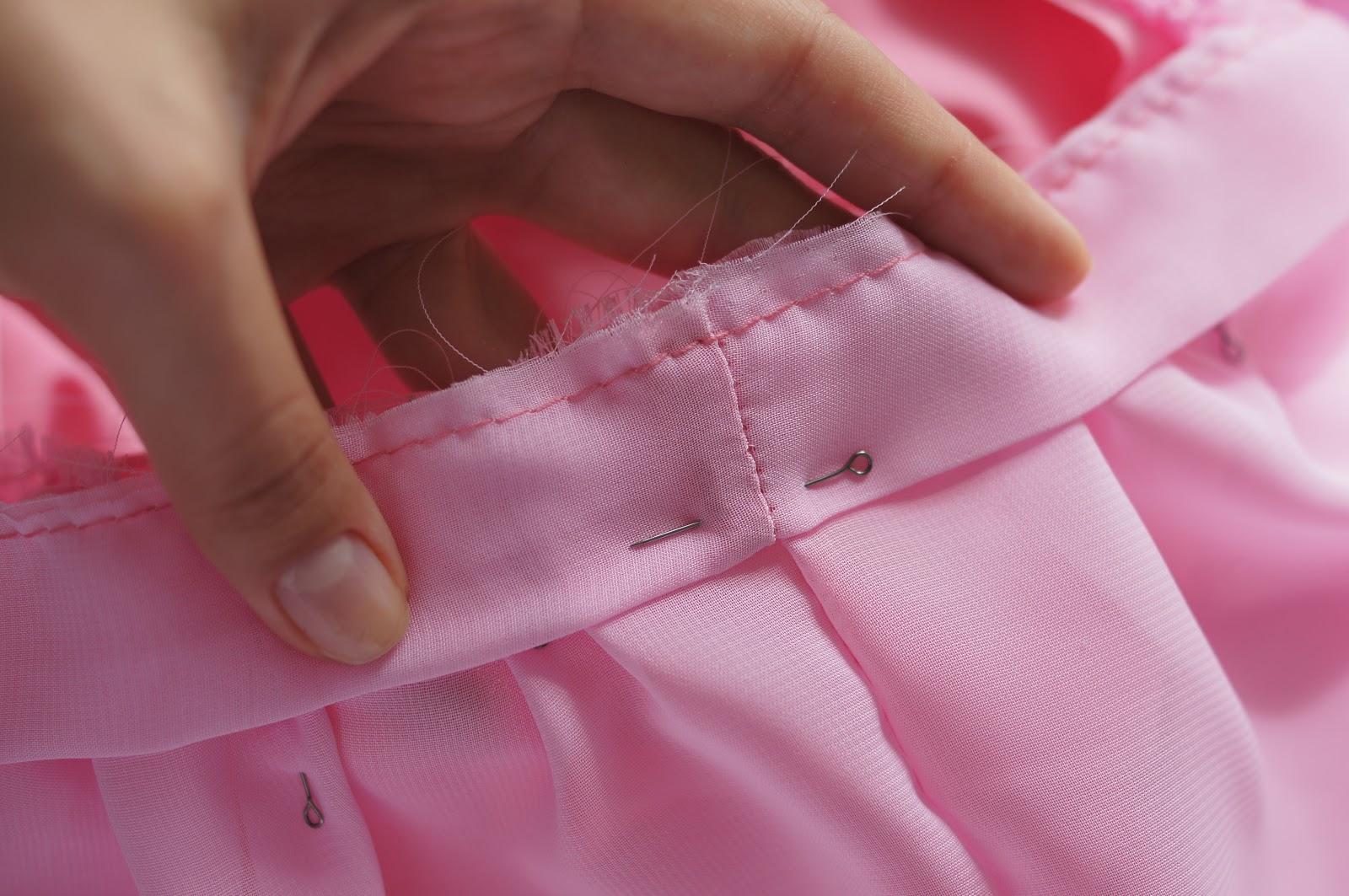 Как сшить юбку без оверлока 18