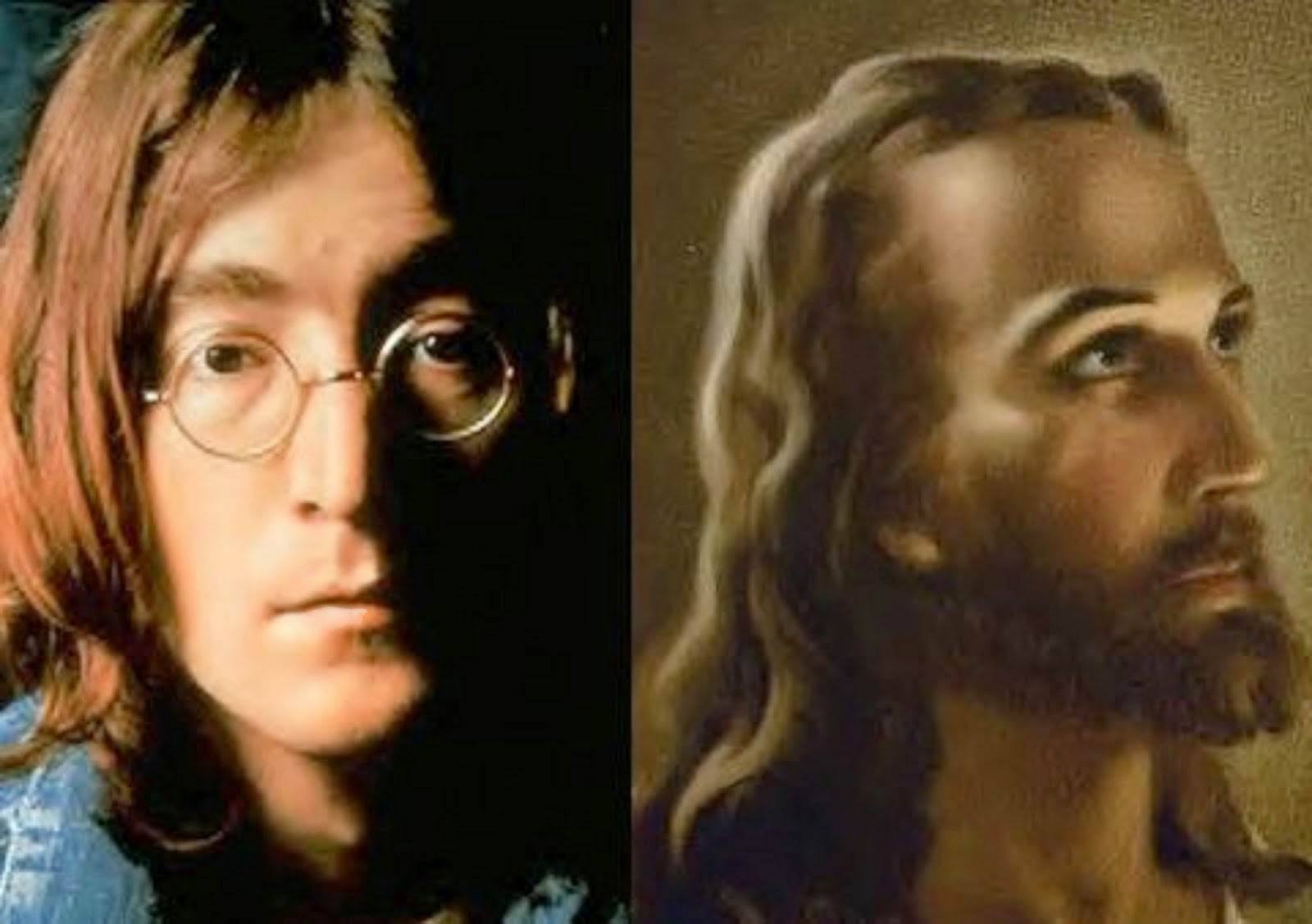 BEATLE JOHN LENNON VS JESUS CHRIST