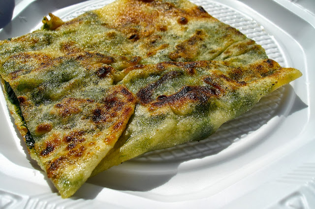 gozleme spinach and feta