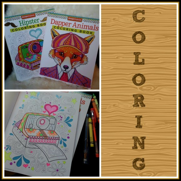 I Chose Hipster And Dapper Animals Coloring Books Both Of These Are Really Nice The Paper Is High Quality Working Well With My Gel