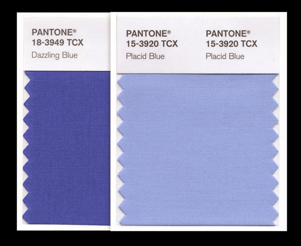 Pantone Spring 2014 Fashion Color Placid Blue