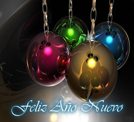 Imagen con mensaje Feliz Año Nuevo