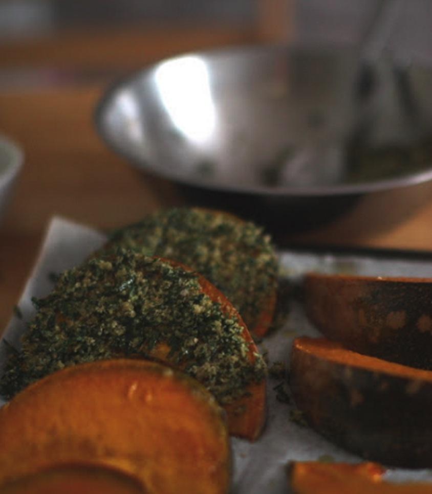 pumpkin wedges
