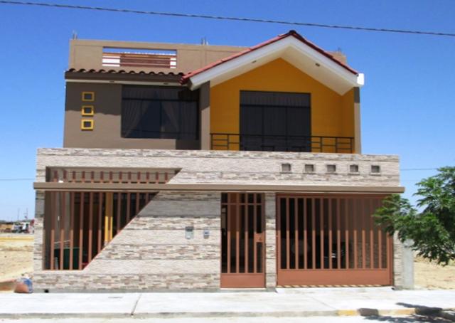 Fachadas y Casas: Página inicial