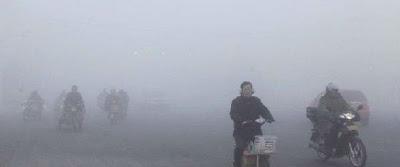 Altos niveles de contaminación en el aire de China, 13 de Enero 2013