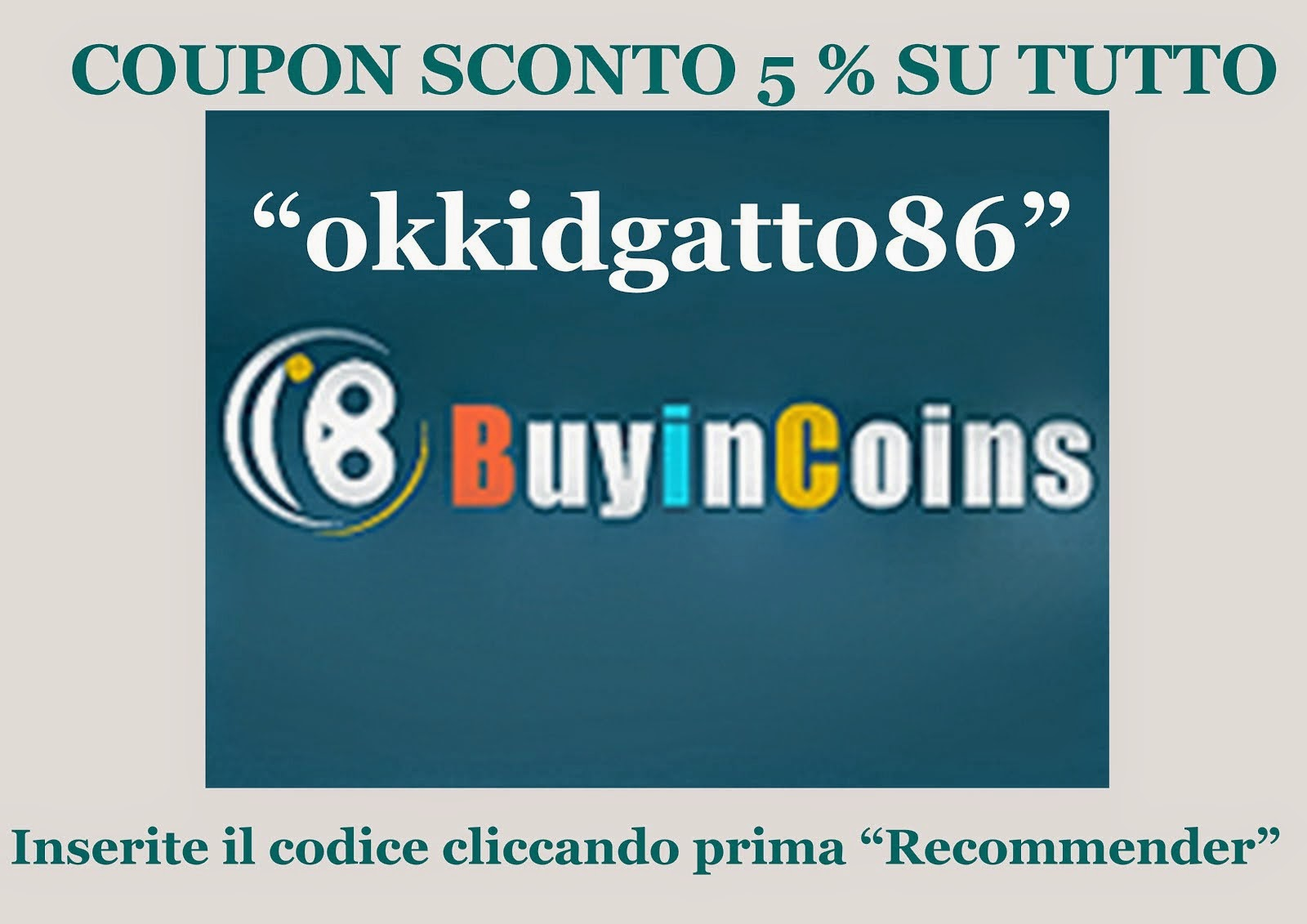 Buyincoins Coupon
