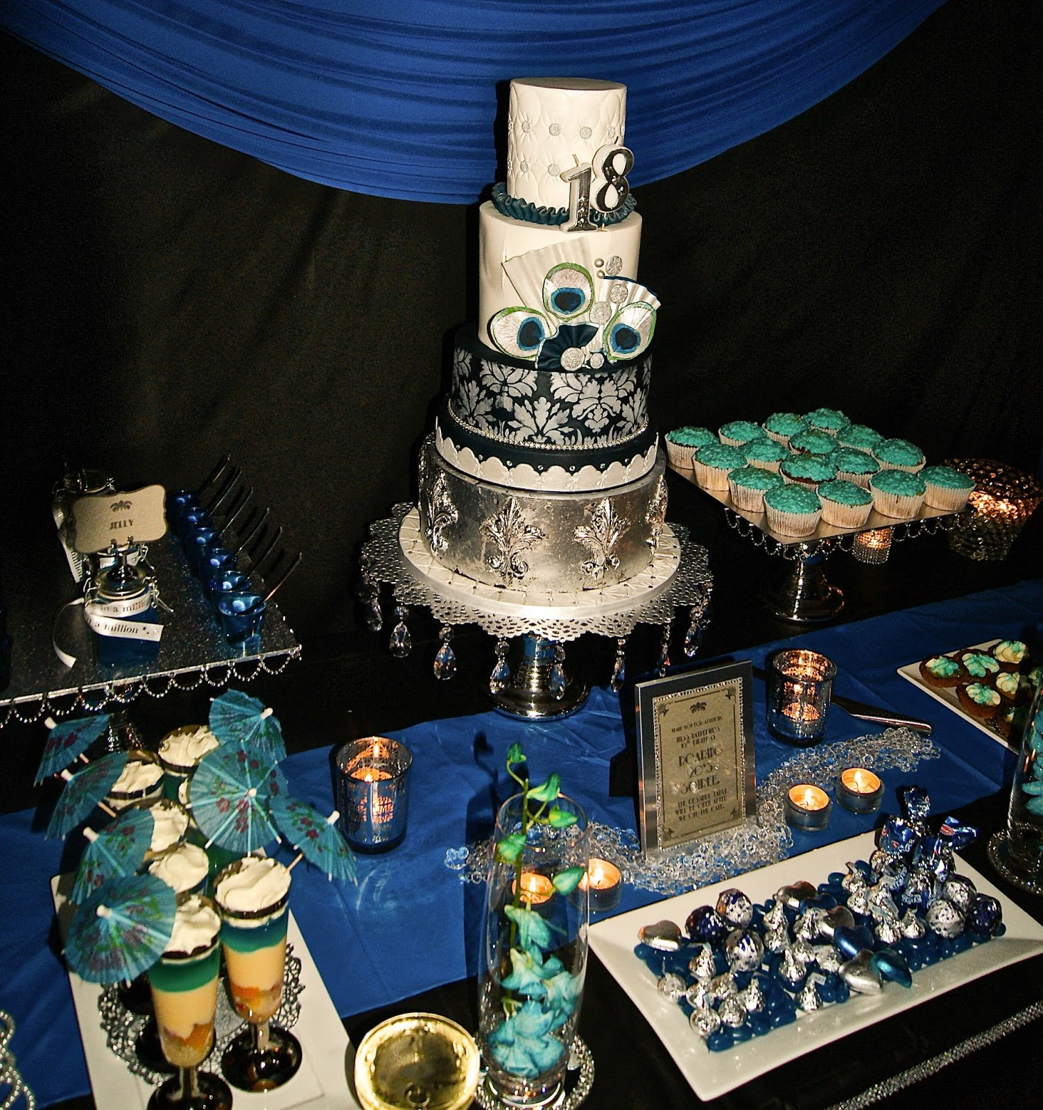 Little big company the blog roaring twenties 18th for 18 birthday decoration ideas