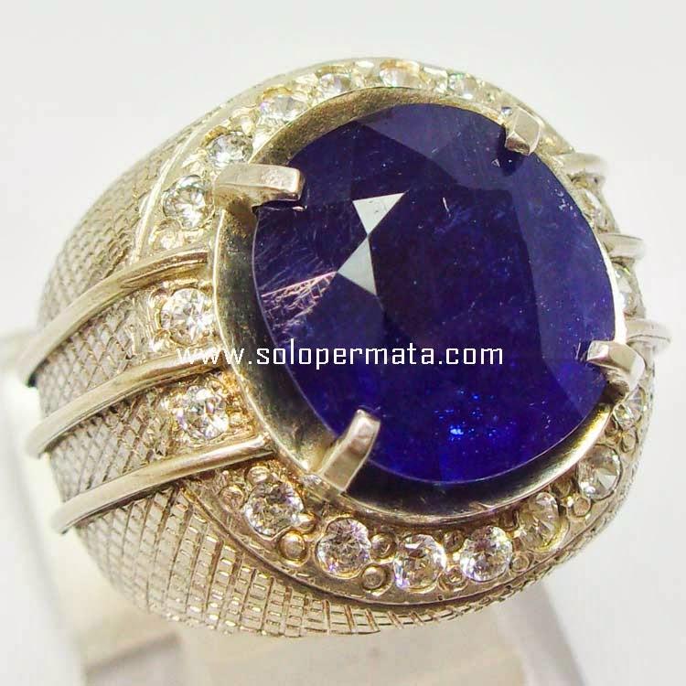 Batu Permata Blue Sapphire - SP 001