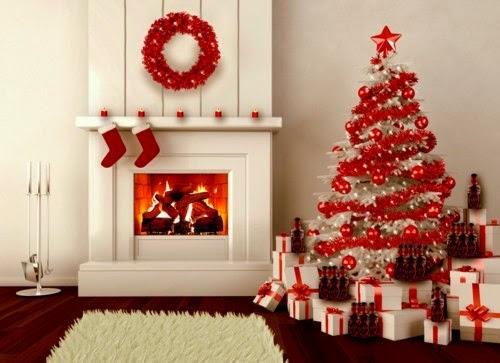 arbol decorado de navidad
