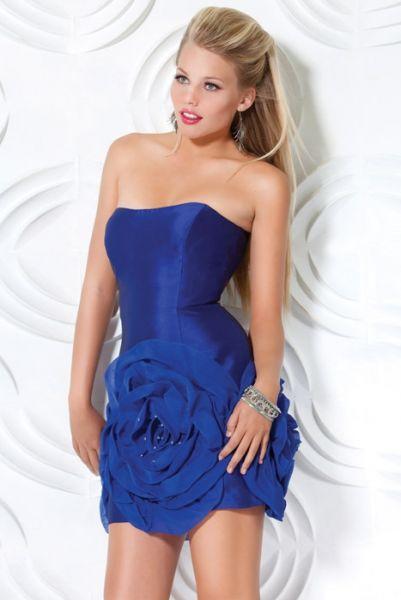 Diversidad de fotos de estos vestidos cortos que es moda en el 2012