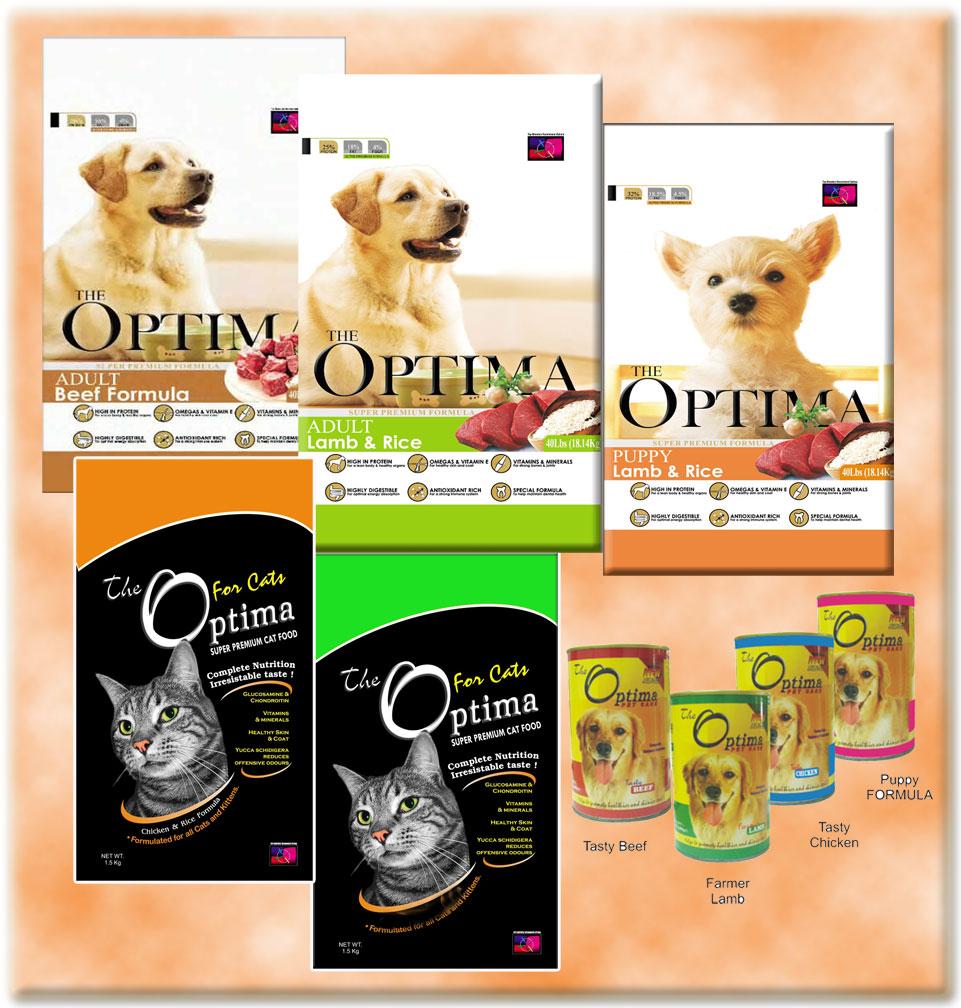 DOG CAT FOOD OPTIMA BERKUALITAS BAIK