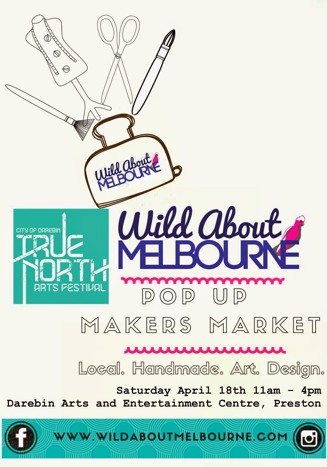 True North Festival : Wild About Melbourne Pop Up Makers Market