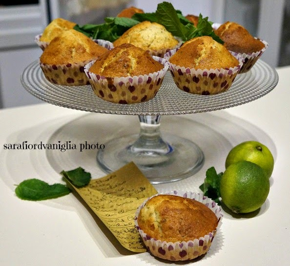 muffins al mojito