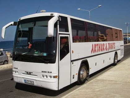 Arthur & John's coach, Malta