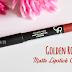 Matowa szminka Golden Rose Matte Crayon nr 09