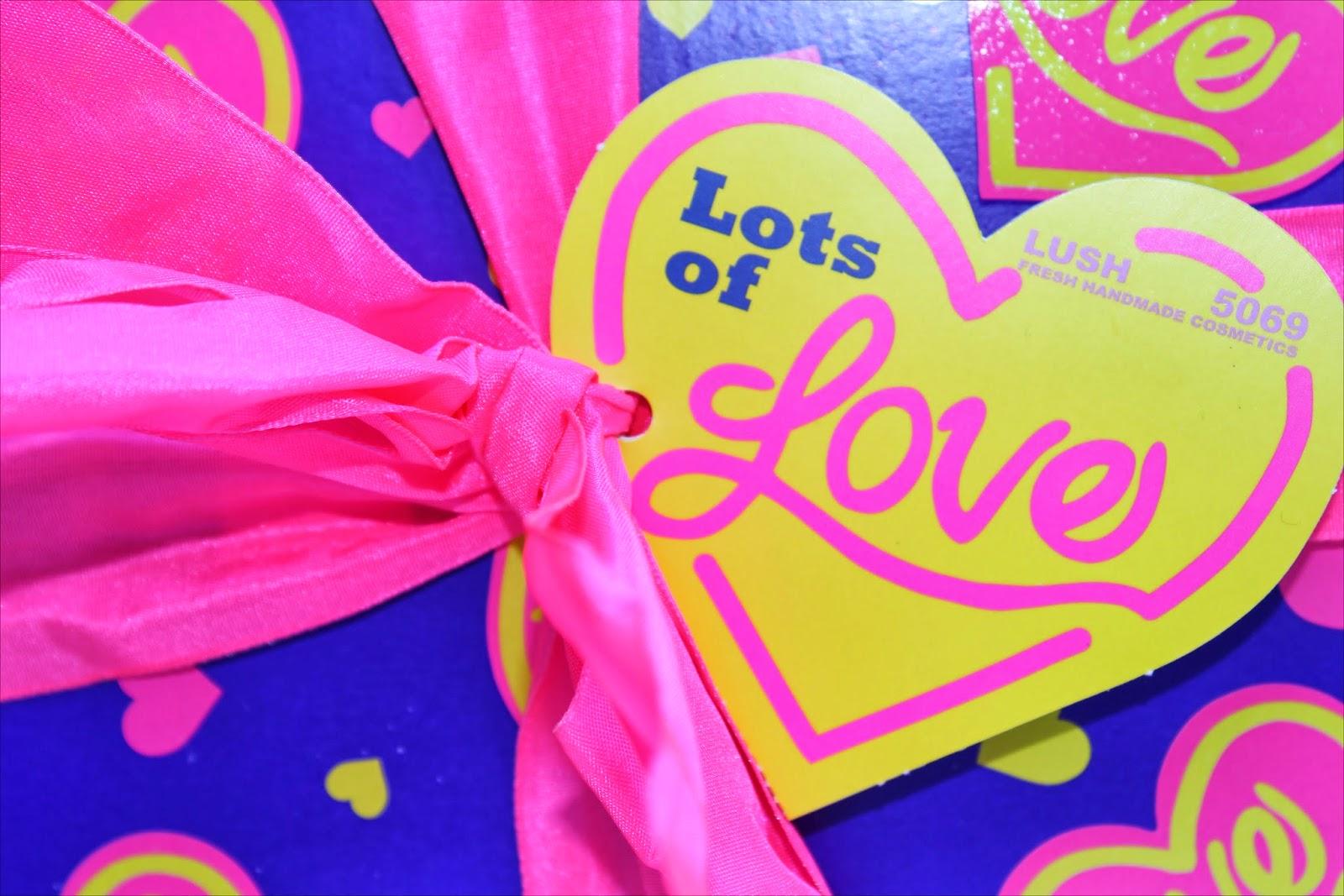 Lush Lots of Love Gift Box