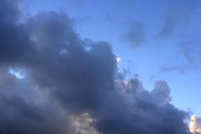het plezier naar de wolken te kijken