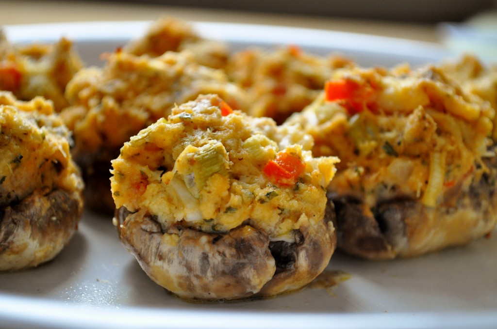 Crab Stuffed Mushrooms Recipe — Dishmaps