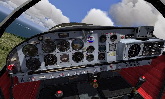 FlightGear Flight Simulator PC Games Gameplay