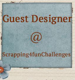 Guest Designer for: