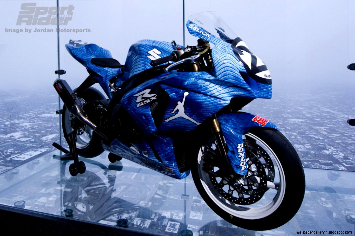 Michael Jordan Motorsports Superbike HD 2576 Wallpaper